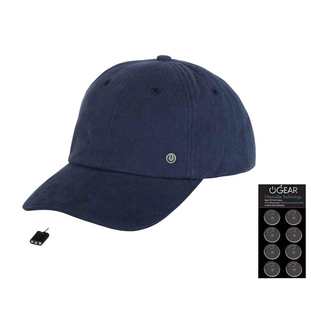 c2b232a96c0 Power Gear Coin Battery Hat with Attachable LED Light