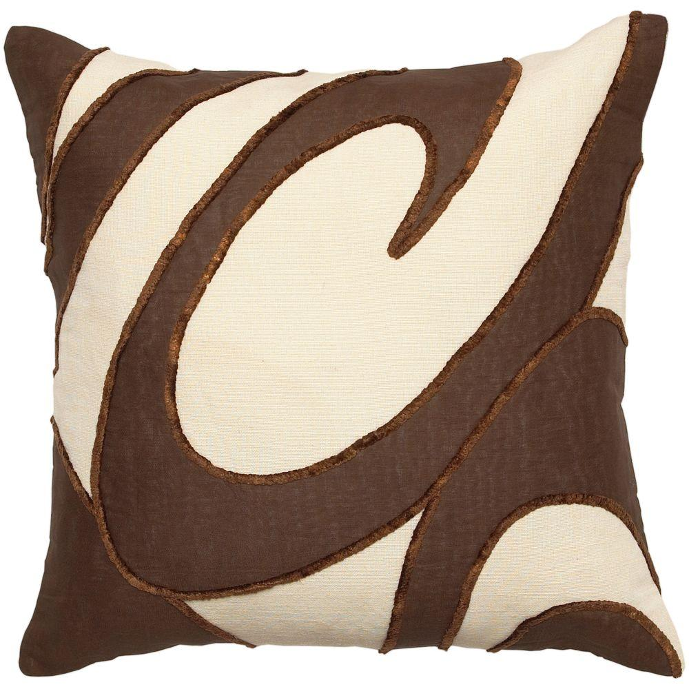 Artistic Weavers Swirl 22 in. x 22 in. Decorative Down Pillow-DISCONTINUED