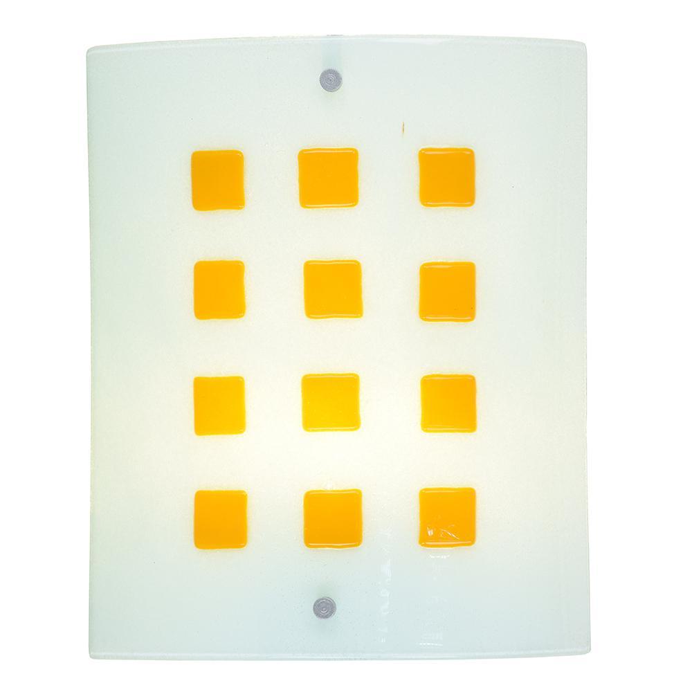 Newton 7.5-Watt Silver Integrated LED Wall Sconce