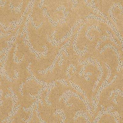 Carpet Sample - Amusing - In Color Iced Coffee 8 in. x 8 in.
