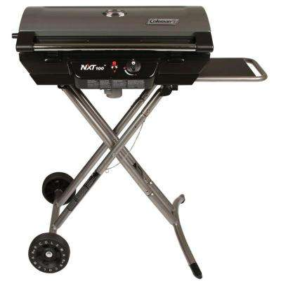 1-Burner Portable Propane Gas Grill in Black