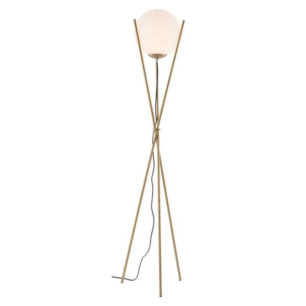 Antwerp 70.5 in. White Floor Lamp