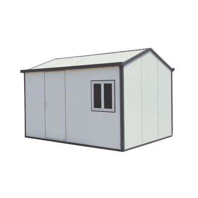 Gable Roof 13 ft. x 10 ft. Insulated Building Metal Shed