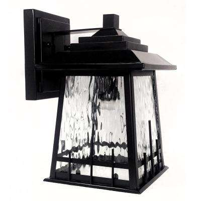Rainier Oil Rubbed Bronze Outdoor Integrated LED Wall Mount Sconce