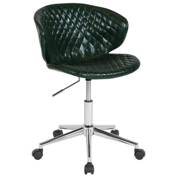 Amazing Flash Furniture Green Vinyl Office Desk Chair Cga Lf 232219 Ocoug Best Dining Table And Chair Ideas Images Ocougorg