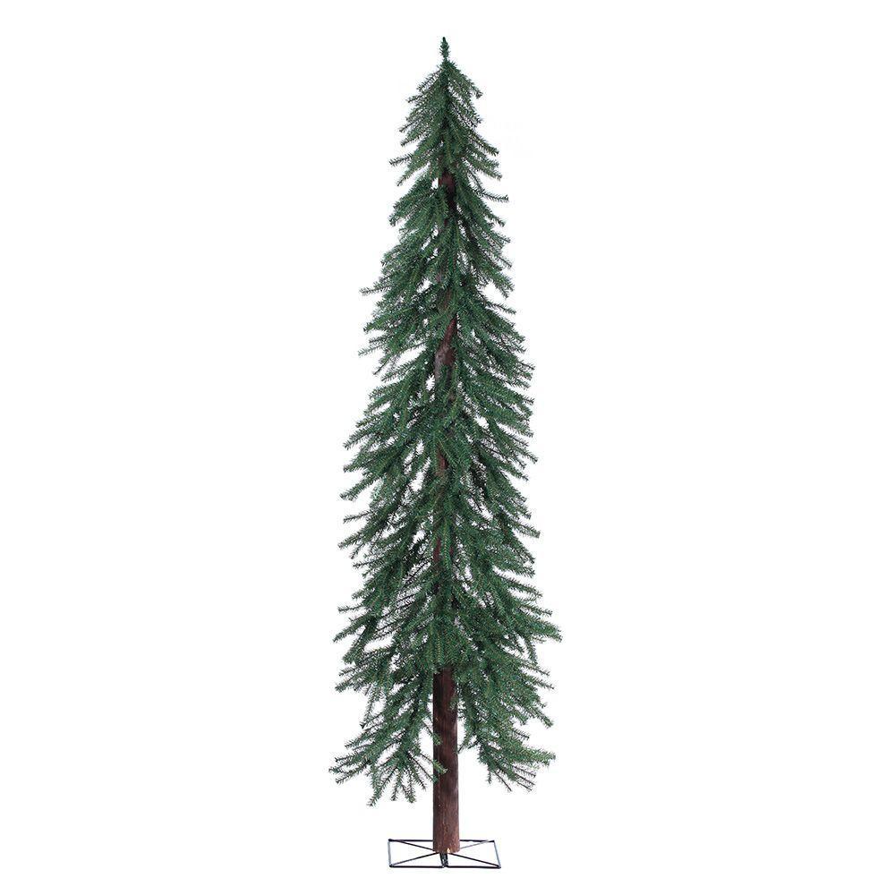 7 ft. Unlit Alpine Artificial Christmas Tree