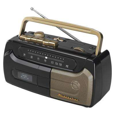 Portable Cassette Player/Recorder with FM Radio