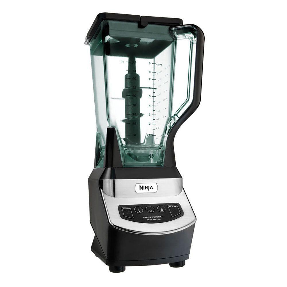 Professional Blender, Black The Ninja Professional Blender is a high powered kitchen tool that is perfect for ice crushing, blending, pureeing and controlled processing. Create all of your favorite recipes fast and easy with just one touch of a button. Color: Black.