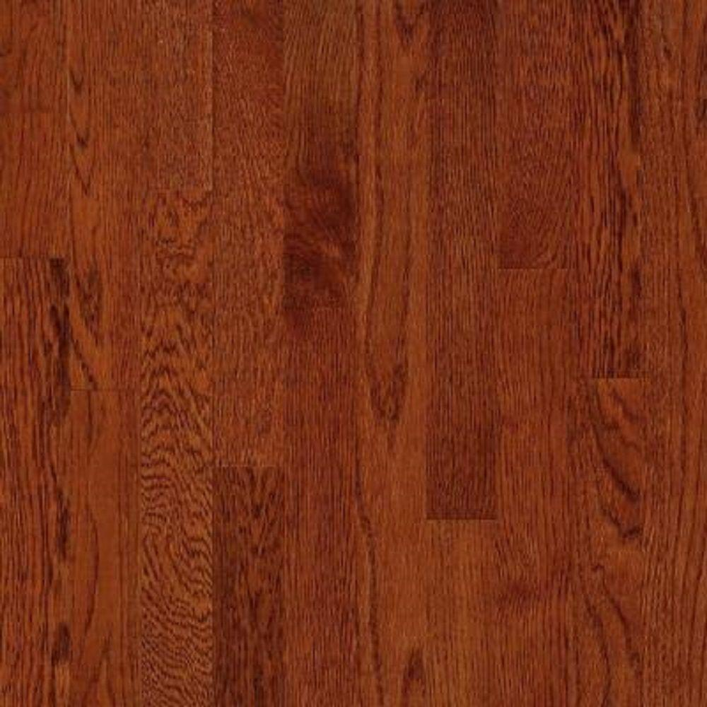 Bruce Take Home Sample American Originals Ginger Snap Oak Engineered Click Lock Hardwood Flooring 5 In X 7 Br 655583 The Depot