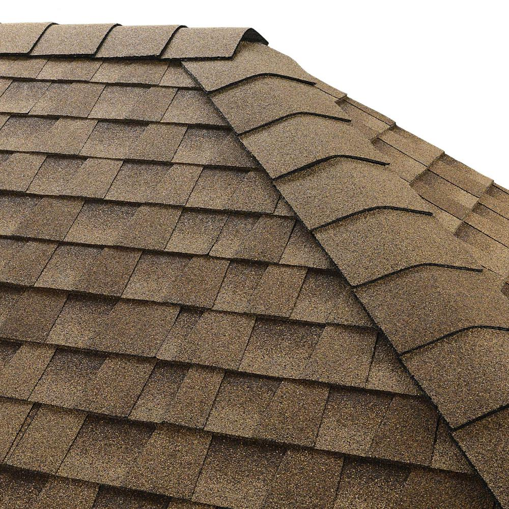GAF Timbertex Shakewood Premium Hip and Ridge Shingles (20 lin. ft. Per Bundle)