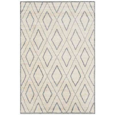 Stone Wash Beige/Gray 4 ft. x 6 ft. Area Rug