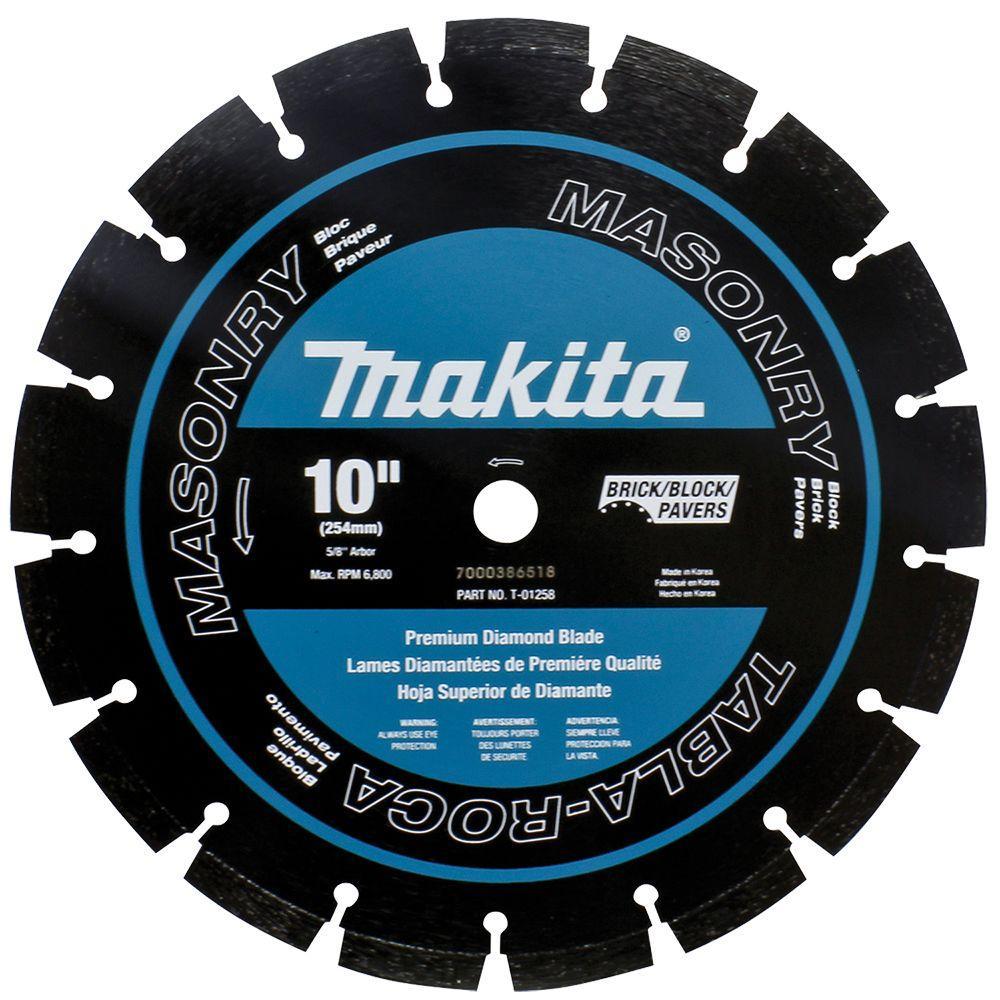 Makita 10 in. Dual Purpose Premium Segmented Diamond Blade