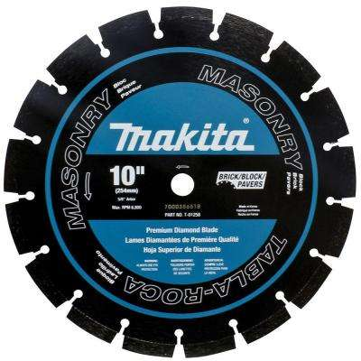 10 in. Dual Purpose Premium Segmented Diamond Blade