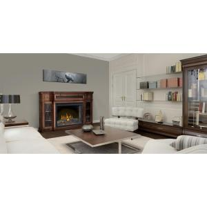 NAPOLEON The Colbert 33 inch Media Package Electric Fireplace in Antique Mahogany... by NAPOLEON