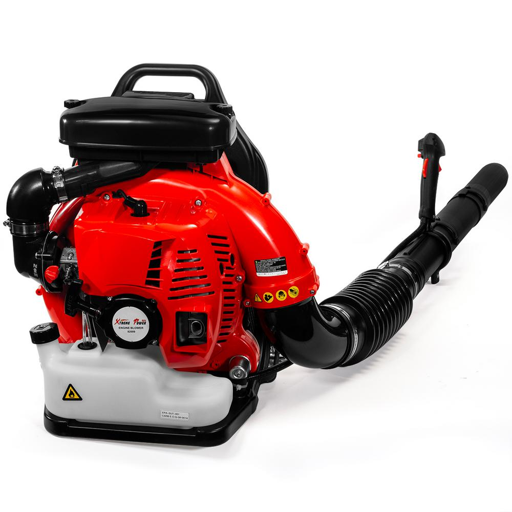 XtremepowerUS 175 MPH 760 CFM 79.4 CC Gas 2-Stroke Leaf Blower Backpack with Tube Throttle