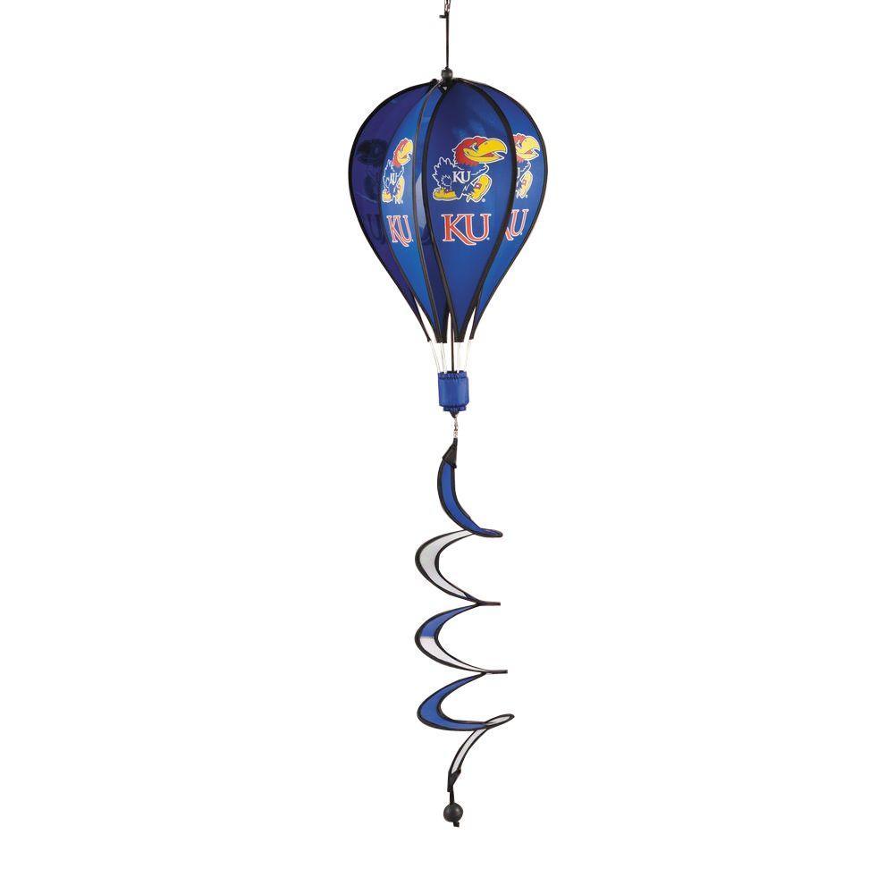 NCAA Kansas Jayhawks Hot Air Balloon Spinner