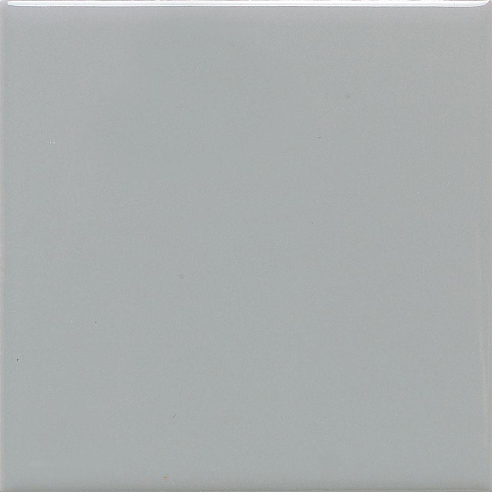 Daltile Semi-Gloss Desert Gray 6 in. x 6 in. Ceramic Wall Tile (12.5 sq. ft. / case)