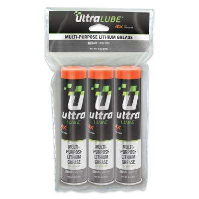 3 oz. Multi-Purpose Lithium Grease (3-Pack)