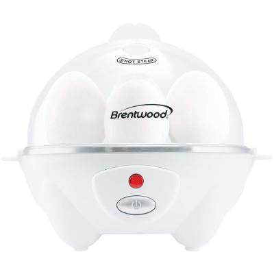 7-Egg White Electric Egg Cooker with Auto Shutoff