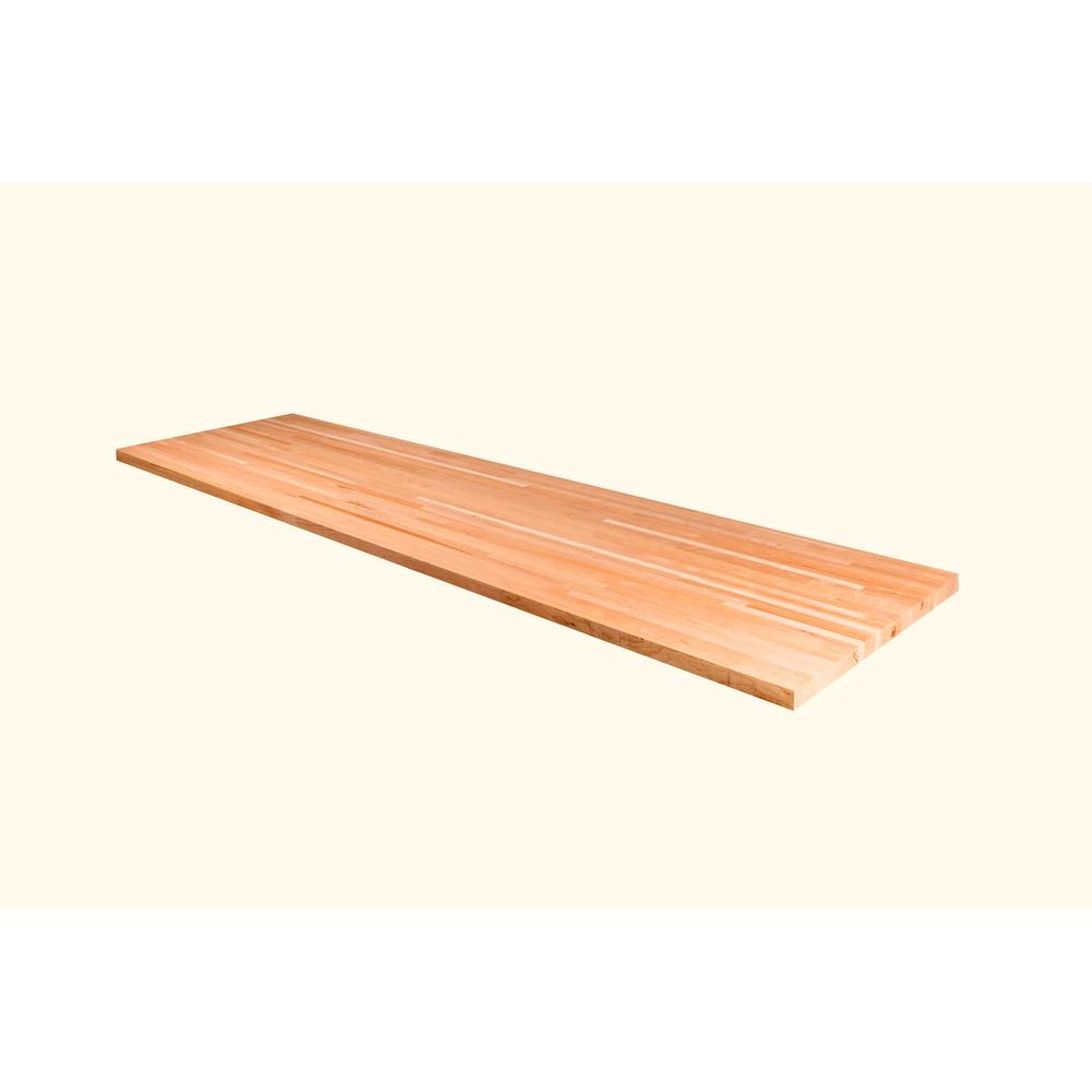 48 in. x 25 in. x 1.5 in. Wood Butcher Block