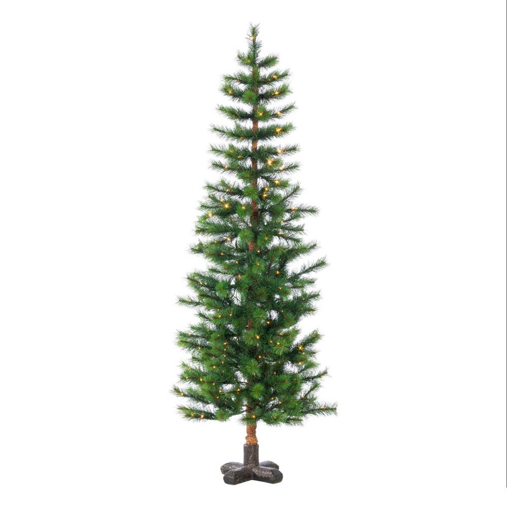 5 ft. Hard Mixed Needle Woodland Spruce Artificial Christmas Tree with