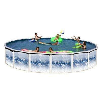 Yosemite 24 ft. x 52 in. Round Pool Package