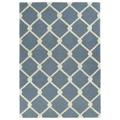 Spaces Grey 2 ft. x 3 ft. Area Rug