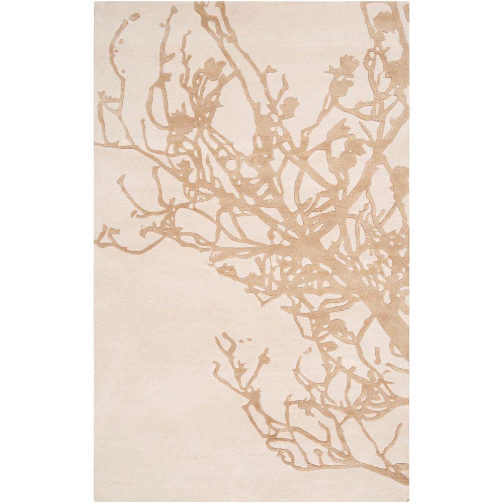 Surya Candice Olson Peach Cream 9 ft. x 13 ft. Area Rug