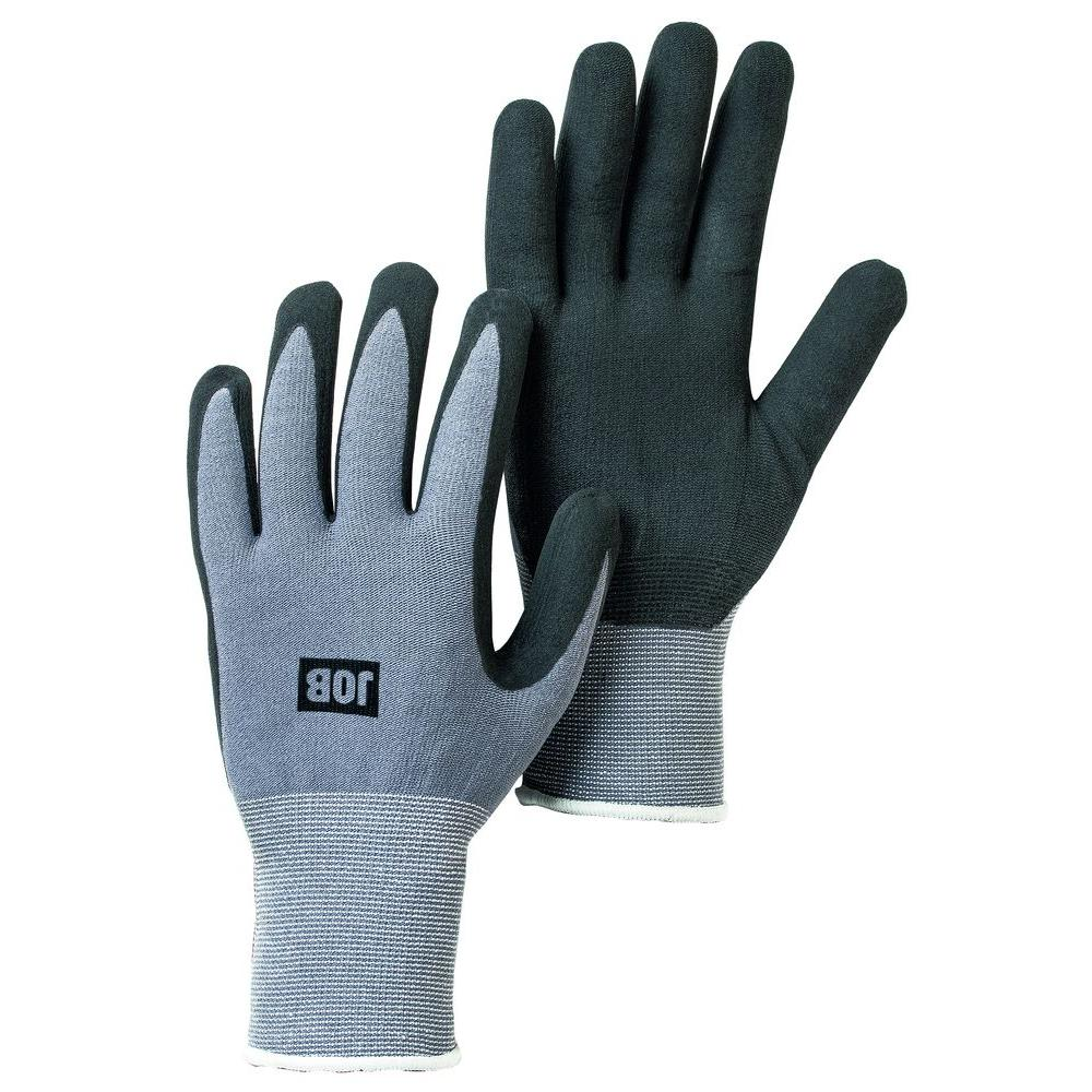 Hestra X-Large Size 10 Black Nitrile-Dipped Work Gloves
