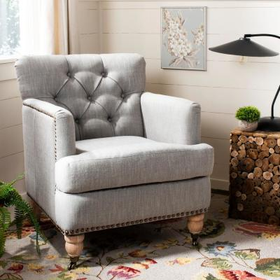 Colin Stone Linen Arm Chair