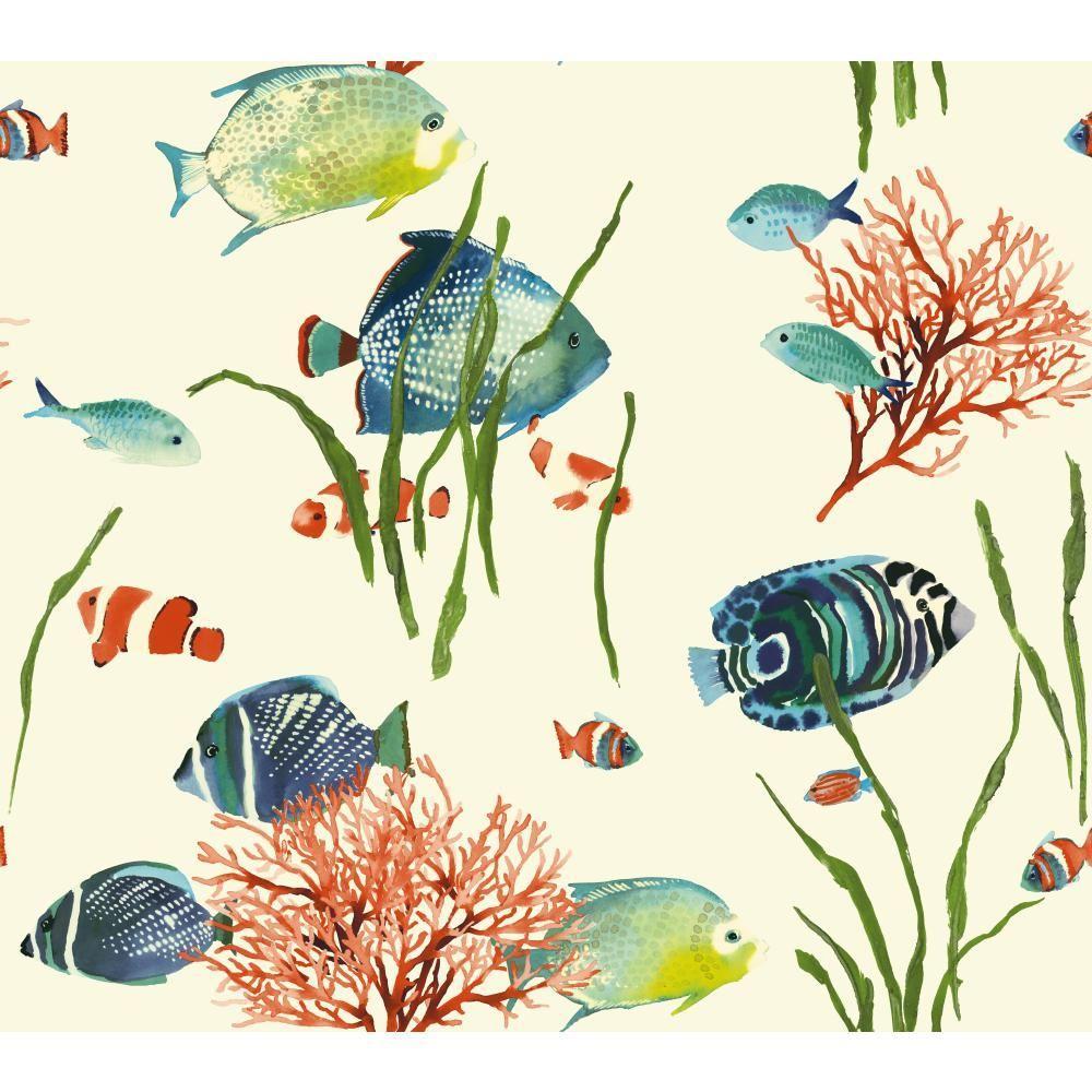 Tropics Tropical Reef Wallpaper