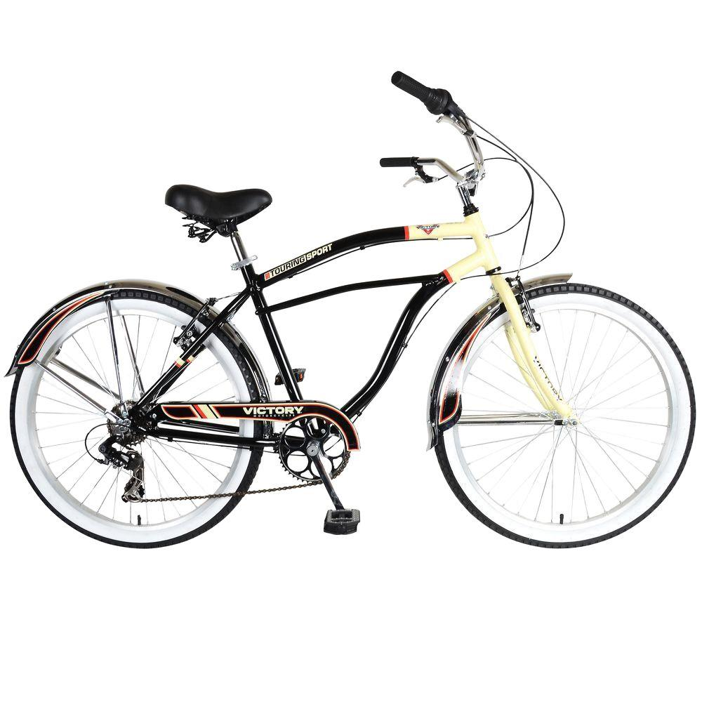 Slant/Fin Touring 726M Cruiser Bicycle, 26 in. Wheels, 19 in. Frame ...