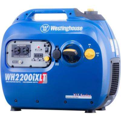 WH2200 2,200/1,800 Watt Gas Powered Portable Inverter Generator with Parallel Capabilities and Enhanced Fuel Efficiency