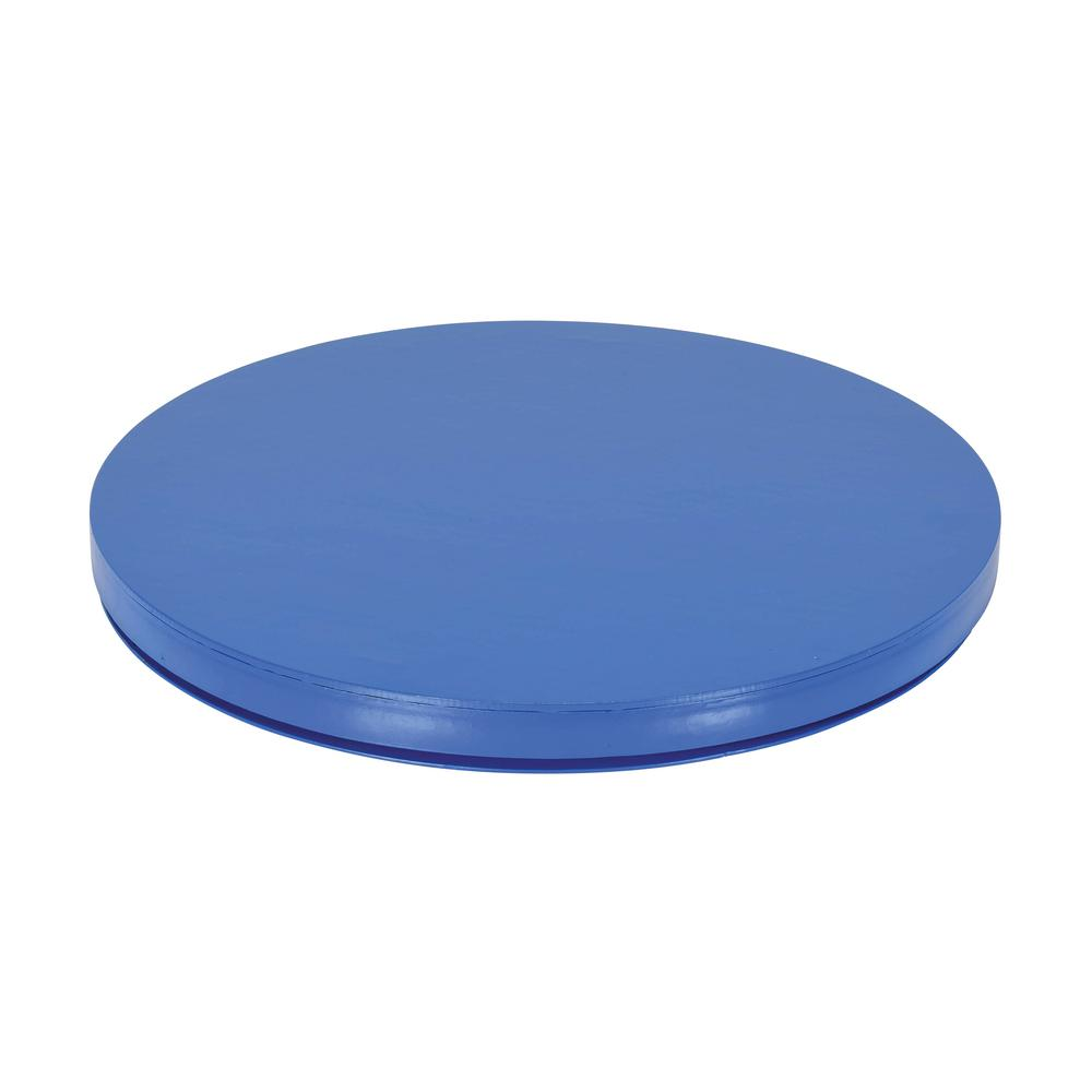 30 in. Round Carousel Smooth Plate