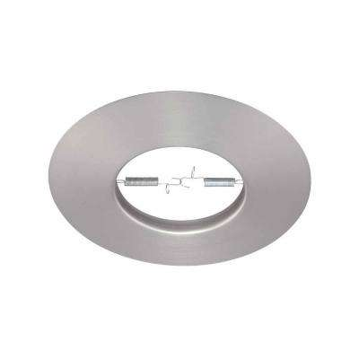 6 in. R30 Brushed Nickel Recessed Open Trim (12-Pack)