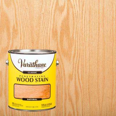 1 gal. Natural Classic Wood Interior Stain (2-Pack)