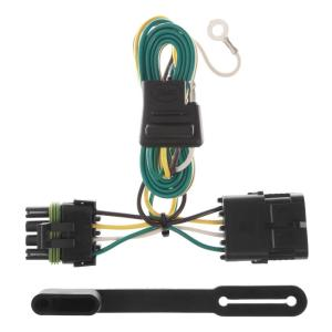 CURT 4 in. T-Connector Kit-55336 - The Home Depot  Curt T Connector Trailer Wiring Harness on installing boat wiring harness, 1986 toyota wire harness, litemate trailer harness, towed vehicle wiring harness, 4-way wiring harness,