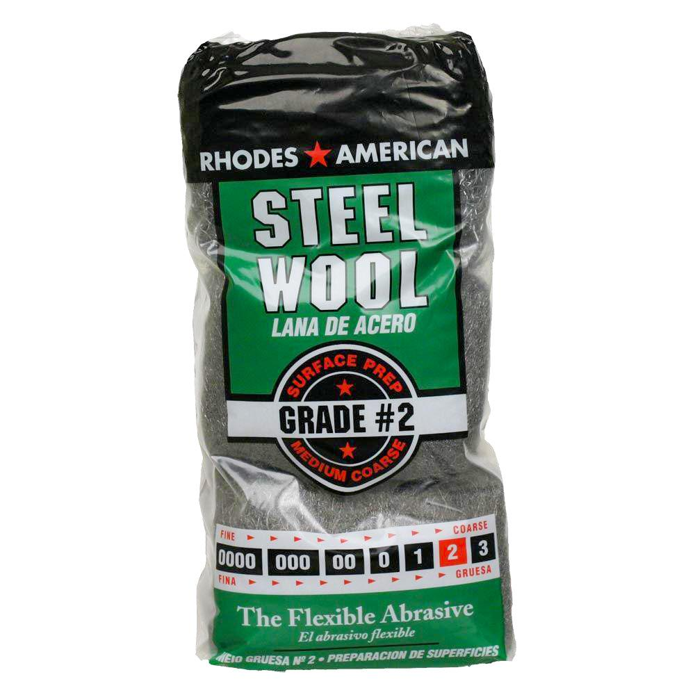 18 JUMBO Steel Wool Floor Pad Grade #2
