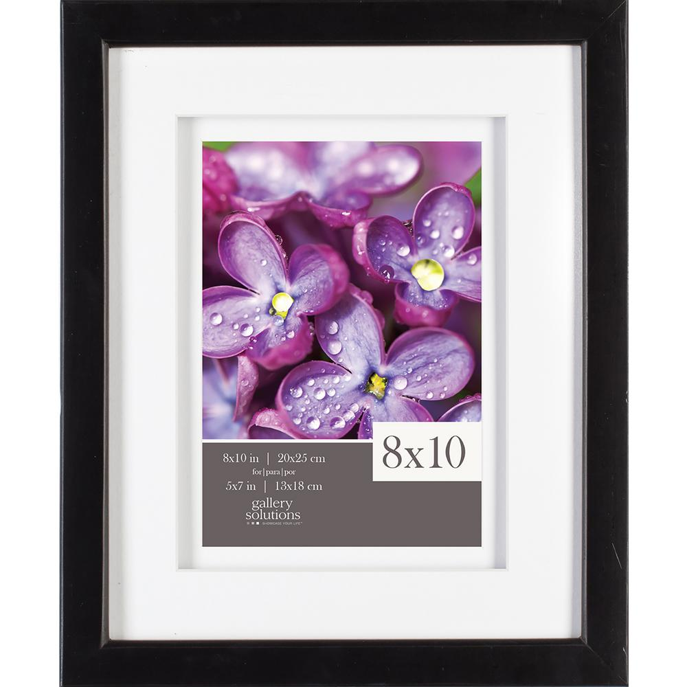 Pinnacle 5 in. x 7 in. Black Picture Frame-05FW1578E - The Home Depot