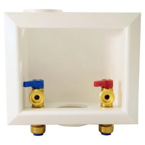 1/2 in. Brass Push-to-Connect x 3/4 in. Male Hose Thread Washing Machine Outlet Box