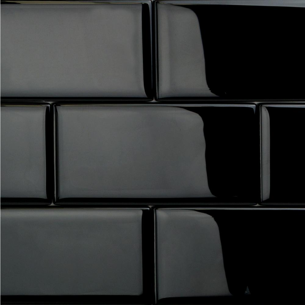 - Ivy Hill Tile Contempo Classic Black 3 In. X 6 In. X 8mm Polished