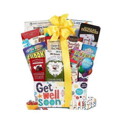 Get Well Soon Care Package Gift Basket A Positive Thoughful Inspirational Gift Idea Great for After Surgery