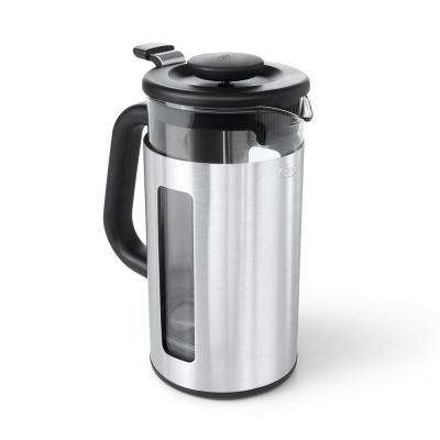 Good Grips Easy Clean 8-Cup French Press Coffee Maker with GroundsLifter