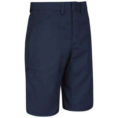 Men's Size 46 in. x 13 in. Navy Lightweight Crew Short