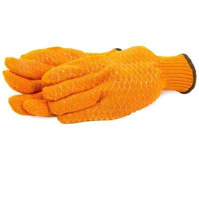 String Knit Honeycomb Gloves (Size XL)