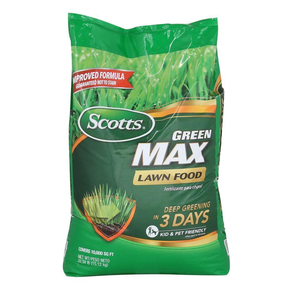 Scotts Turf Builder 35.6 lb. 10,000 sq. ft. Greenmax Lawn Fertilizer