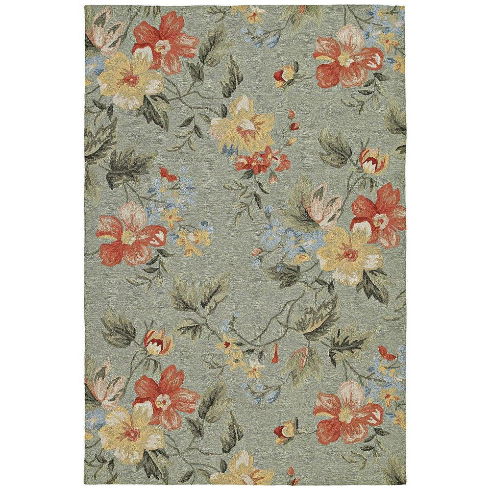 Kaleen Brooklyn Brody Rug: Kaleen Brooklyn Brody Blue 7 Ft. 6 In. X 9 Ft. Area Rug