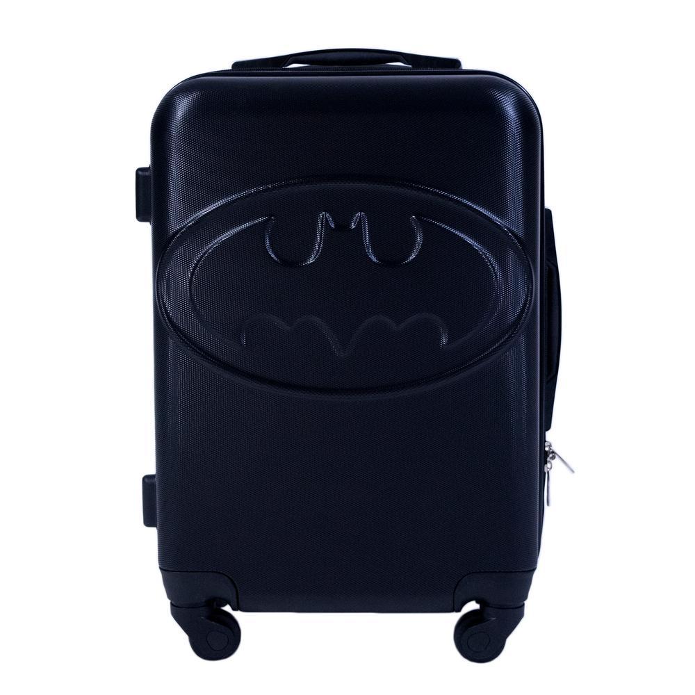 Batman 21 in. Black Hard Sided Luggage Spinner