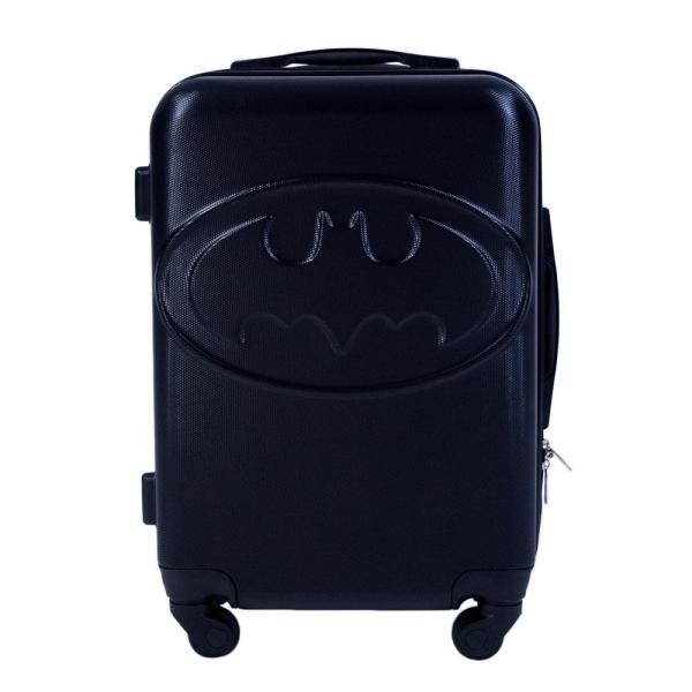 DC Comics Batman 21 in. Black Hard Sided Luggage Spinner EMBTL705-001