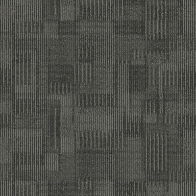 Royce Gridlock Loop 24 in. x 24 in. Carpet Tile (18 Tiles/Case)